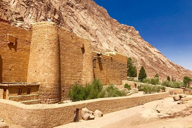 St. Catherine's Monastery and Moses' Mountain from Cairo photo 1