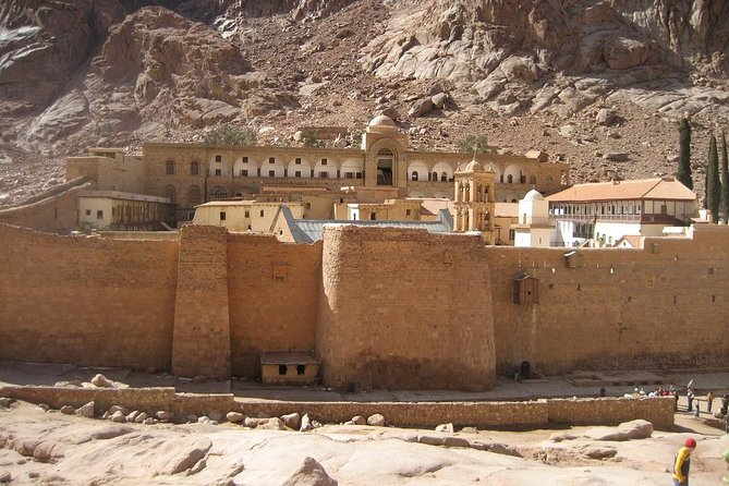St. Catherine's Monastery and Moses' Mountain from Cairo photo 3