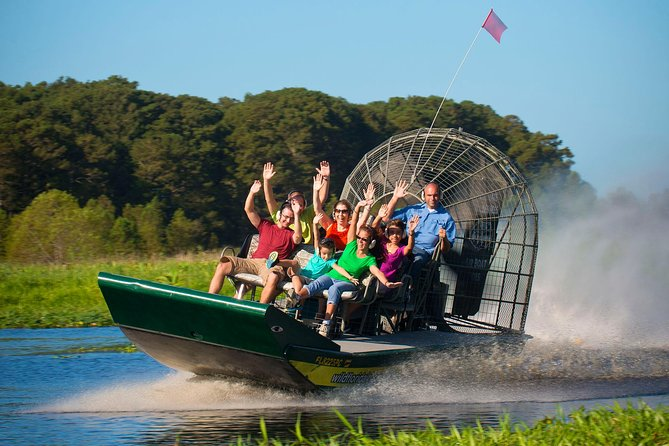 Everglades Airboat & Gator Show - AM or PM free pick-up or self-drive option