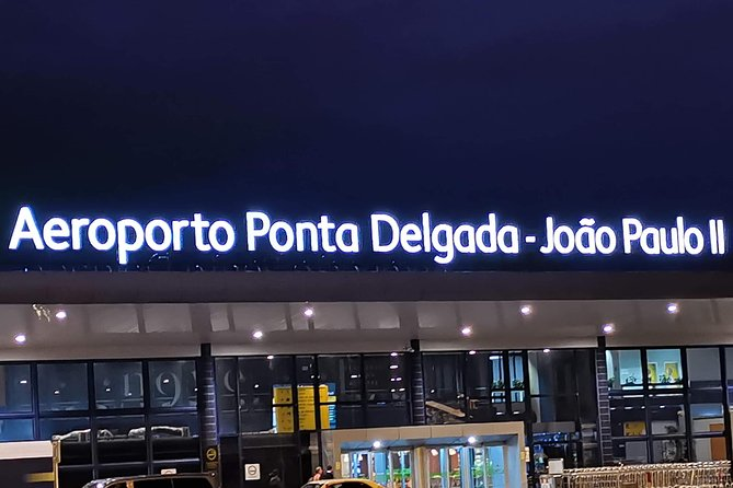 Azores - Airport Transfer to / from Hotel Verde Mar and Ribeira Grande