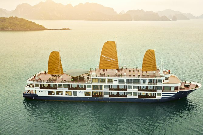 Halong Bay Cruise 5 Star for 2Day/1Night on Boat