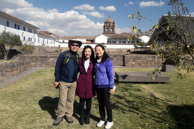Cusco walking Tour Koricancha Pachacutec Palace Inca Museum & San Pedro Market.
