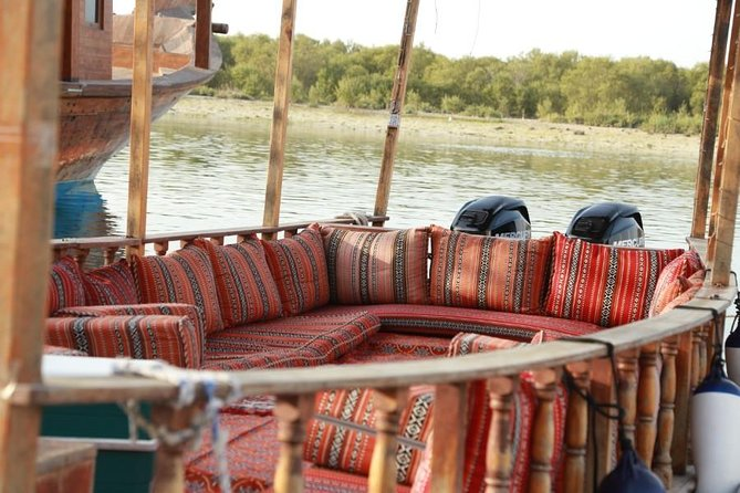 Abu Dhabi Eastern Mangrove Traditional Dhow Boat Tour - Private Sightseeing Tour photo 2
