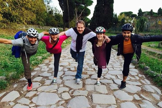 Appian Way countryside ebike tour with picnic lunch