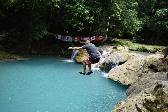 Blue Hole plus Secret Falls and Dunns River Falls Combo from Falmouth Hotels photo 9