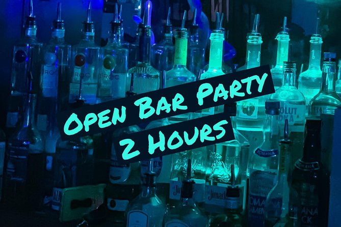Open Bar Party - 2-Hours Unlimited Drinks in Miami Beach