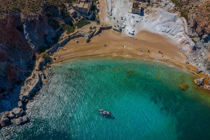 Beyond Waves, Milos Island Tour ( Half Day)