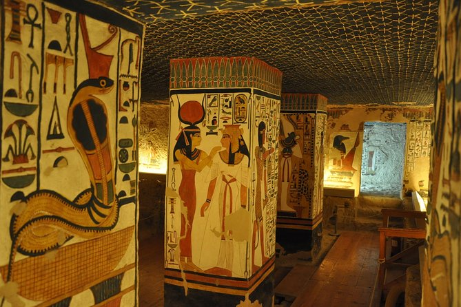 Nefertari, Seti I and Ramesses VI. Grave (day trip)