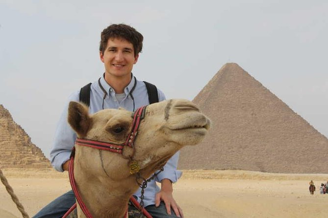 Camel Riding at the Pyramids from Cairo