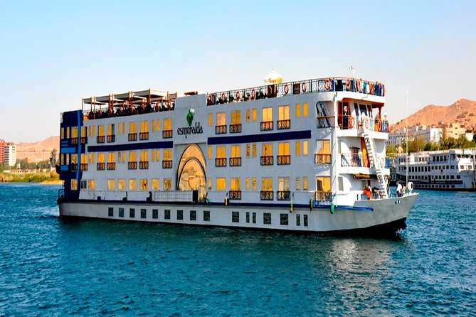 Nile Cruise Nile Azur from Aswan to Luxor for 4 days 3 nights with sightseen