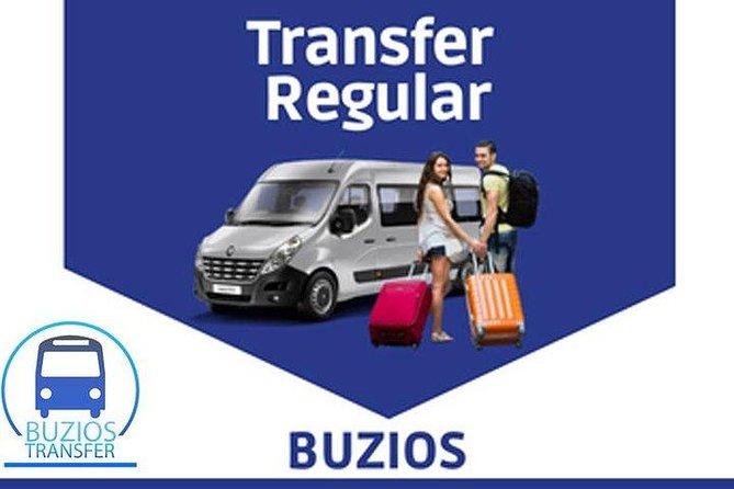 Transferts réguliers (Buzios - Aéroport Galeao)
