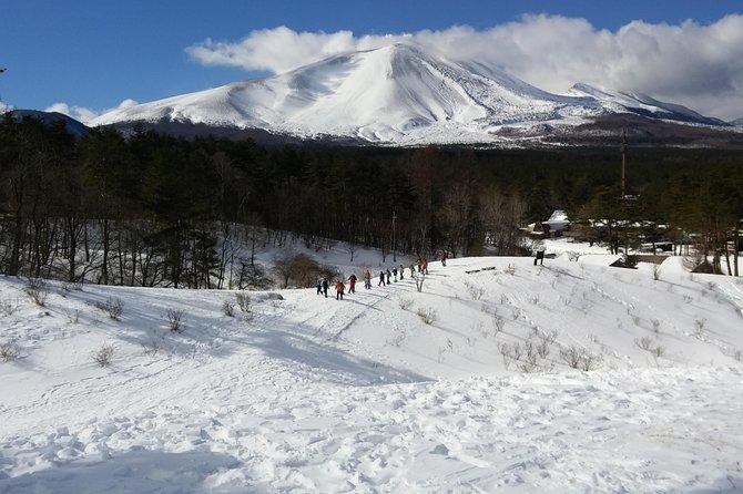 -Snow mountain hiking at the foot of Asama- Karuizawa Snowshoe Tour