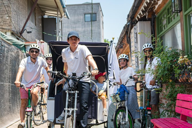 Morning Pedicab Heritage & Lunch Ride