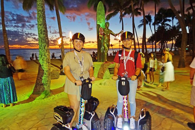 Sunset Glow Signature Hoverboard Tour: Waikiki to Diamond Head