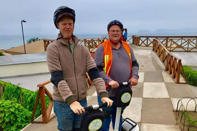 Happy time in the Segway tour