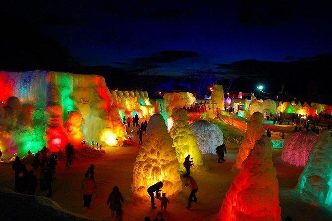Winter Lake Shikotsu Illumination and Ice Festival