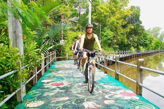 Bangkok's Green Lung Jungle Cycling Adventure Tour
