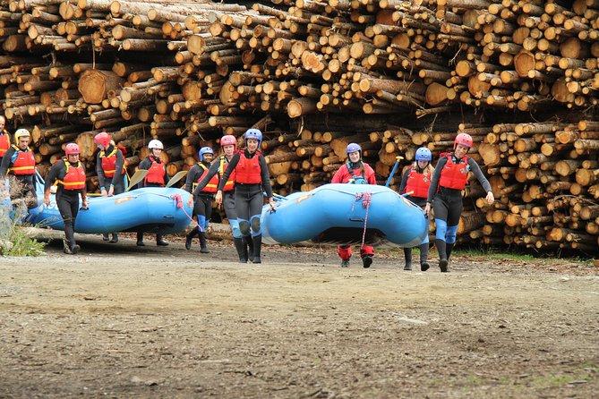 White Water Rafting in Sjoa, Short Trip