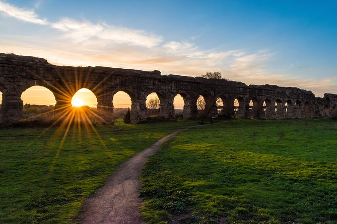 Rome Appian Way Bike Tour with Colosseum Official Guided Tour | Skip the line