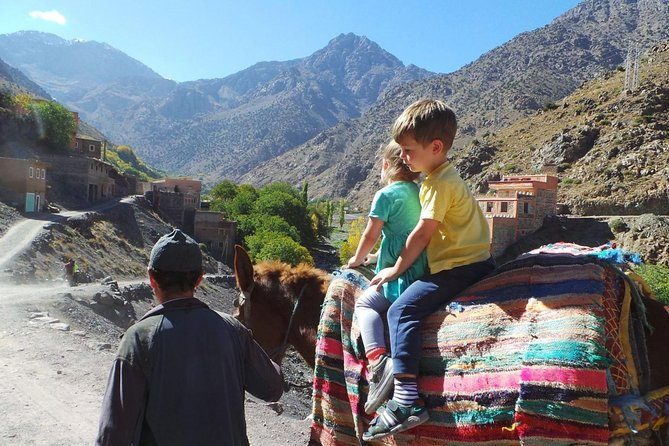 Mule Ride In The Heart Of The Atlas Mountains