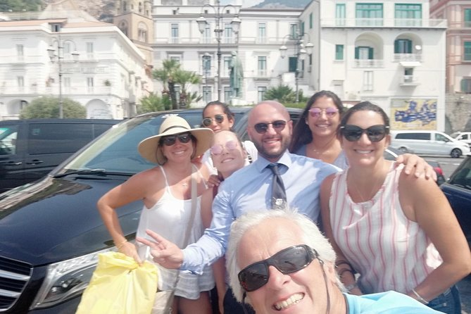Private Amalfi Coast Experience from cruise ship or hotel