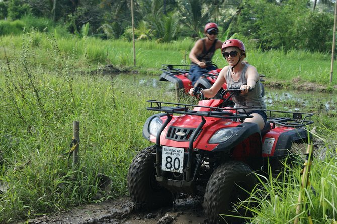 Bali Quad Bike and Bali Best Waterfalls Tour