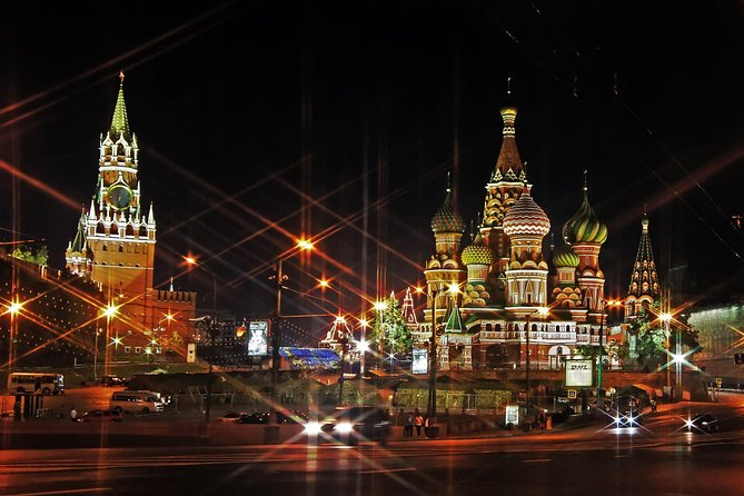 Tour of Evening Moscow