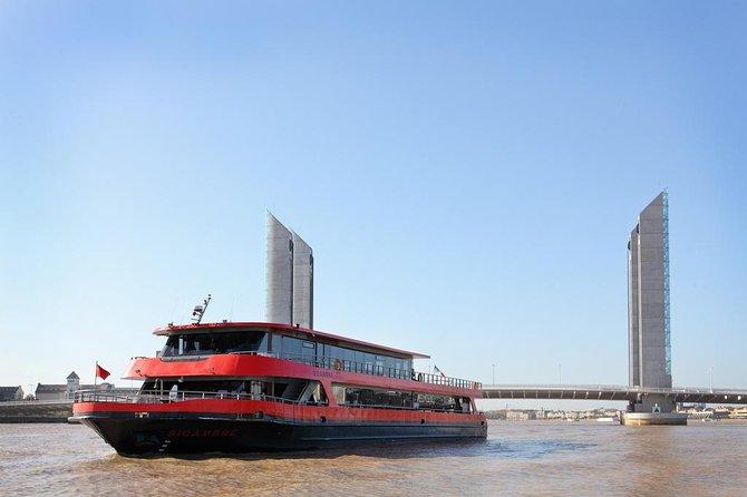 Cruzeiro pelo rio Garona, incluindo almoço saindo de Bordeaux