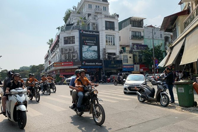 HANOI FULL-DAY Tour Combo: by Vintage Motorcycle and GAZ69/USA Jeep