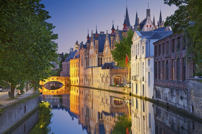 Viagem de ônibus de um dia para Bruges saindo de Amsterdã