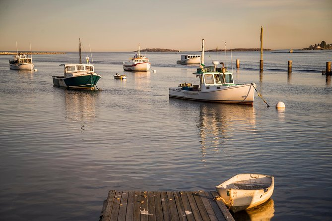 Lobster Boats Casco Bay