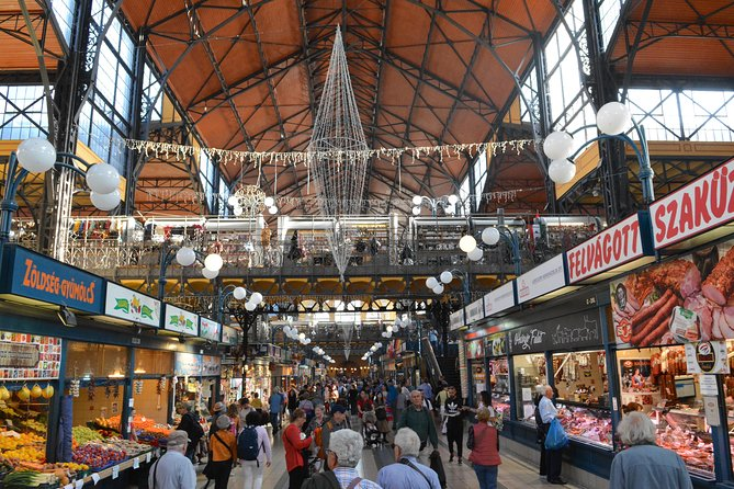 Budapest Central Market Hall Walk with Tastings