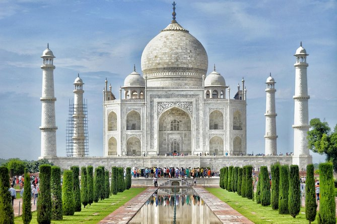 Taj Mahal Sunrise Tour From-delhi