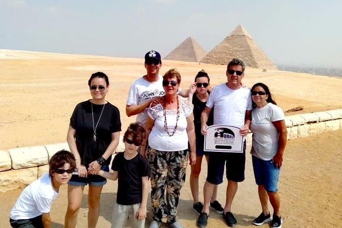 Full Day Tour to Giza Pyramids, Sphinx, Sakkara and Memphis