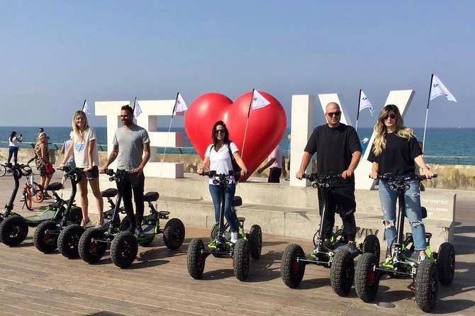 EZRaider tours in Tel Aviv An unforgettable experience. a variety of best Routs