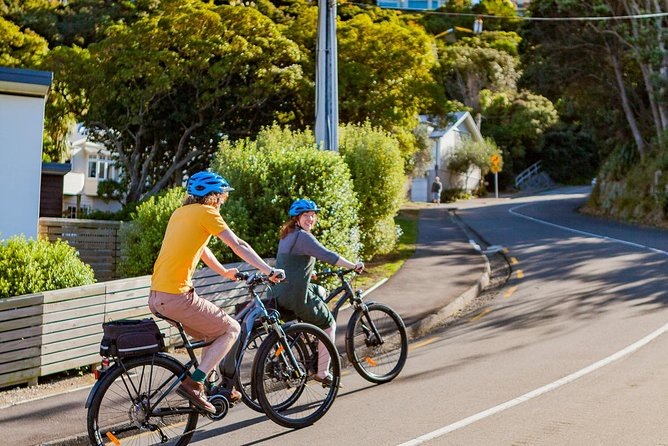 Half- Day Wellington Self-Guided Electric Bike Tour