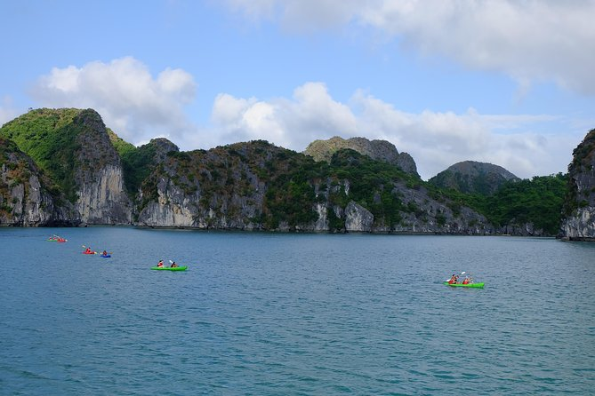 Cruising & Kayaking in Lan Ha bay - Halong bay - Cat Ba island