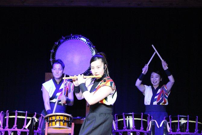 Nighttime show Hida Takayama Kazu drum live performance