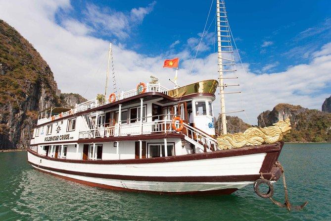 Halong Bay 2 Days 1 Night Golden Star Cruise
