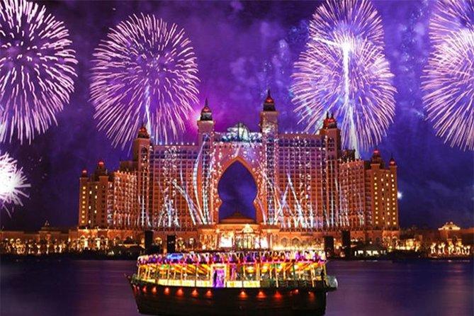 Dubai New Year's Eve Fireworks 3-Hour Cruise