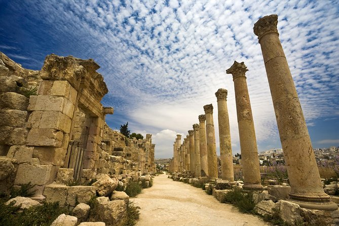 Private Half Day Jerash and Amman Sightseeing Tour