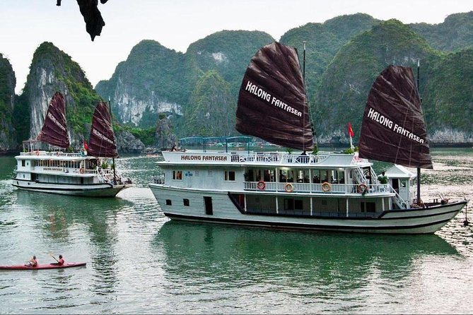Halong Bay Fantasea Cruise 2 Days 1 Night