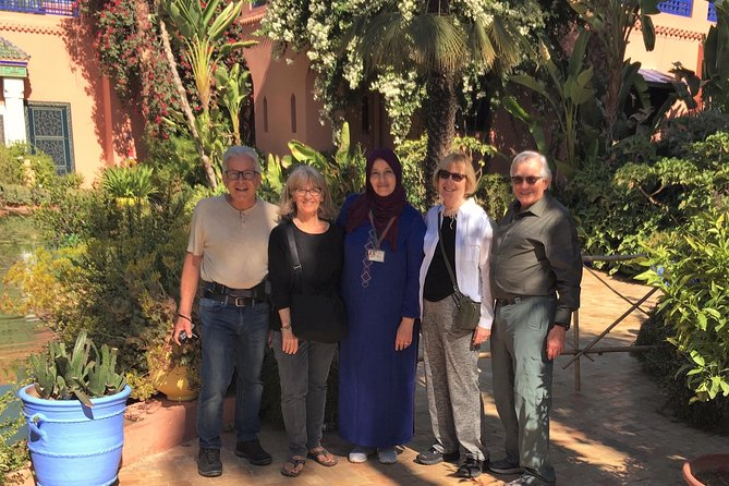 Walking tour in Marrakech