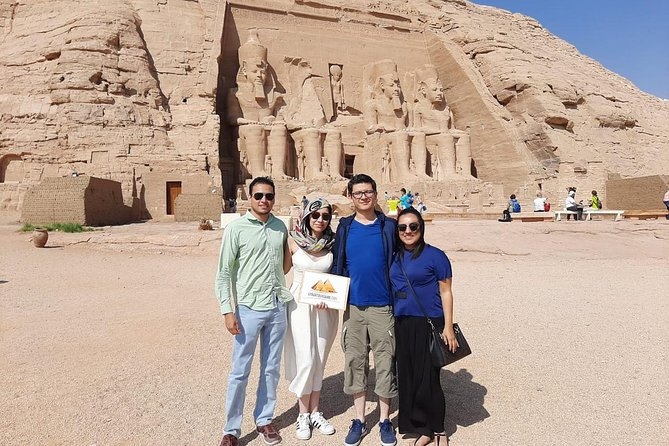 Private Day Trip to Abu Simbel from Luxor by 1st. class Train