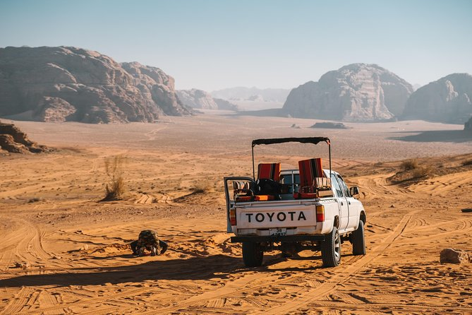 Wadi Rum overnight with Jeep tour