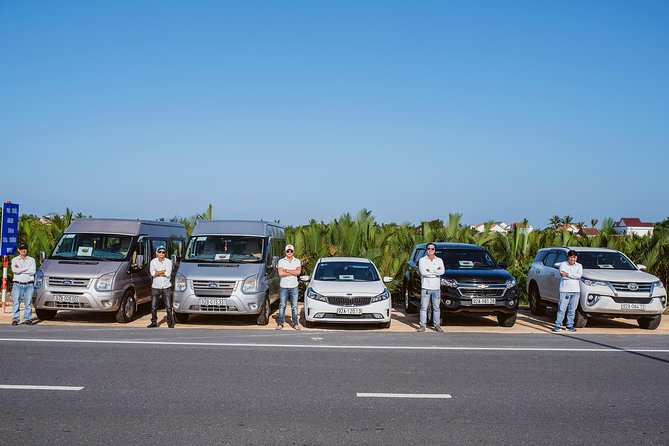 Transfer from Hoi An to Da Nang Airport or Train station