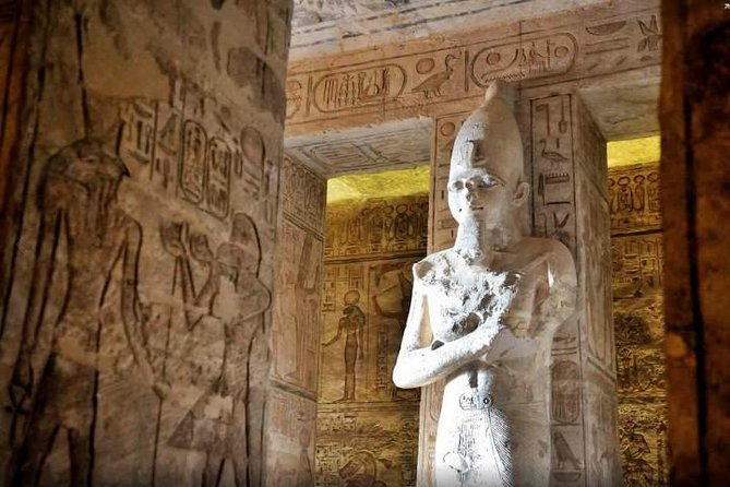 Day Tour To Abu Simbel By Plane From Aswan