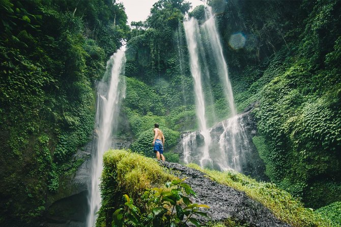 North Bali : Hidden Waterfall, Handara Gate, Bratan Lake, All ticket Inclusive