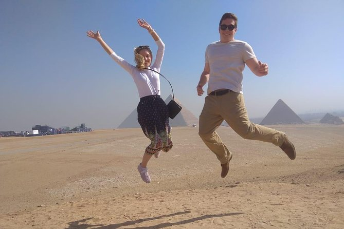 Private Guided Day-Tour to Pyramids of Giza Saqqara and Dahshur from Cairo