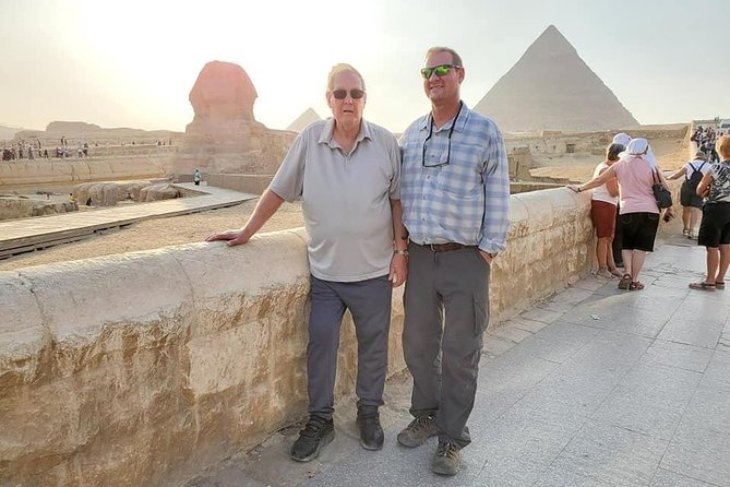 Private Guided Day-Tour to Pyramids of Giza Saqqara and Dahshur from Cairo photo 3